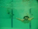 Уроки подводного плавания. Есть прогресс, делаю успехи =)